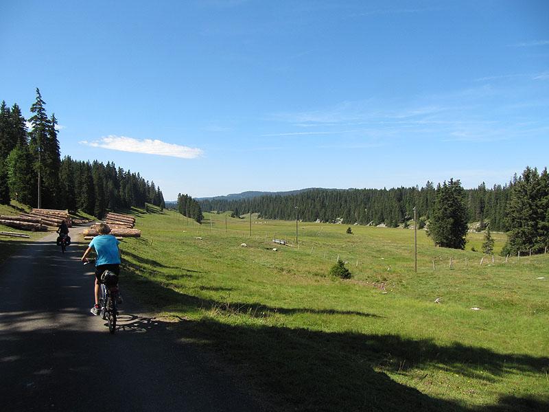 … über den Col du Marchairuz via Nyon nach Genf