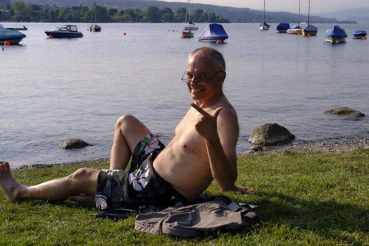 Hochsommerliche Velotour – 4 Seen Und Ein Bach